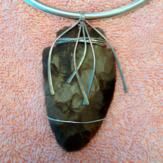 Serpentine Arrowhead Designed for Beverly R.